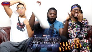 Avengers: Endgame Trailer Reaction
