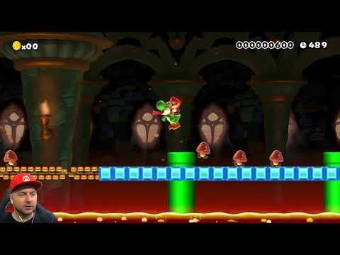 Super Mario Maker: головоломки и сбор монет (видео)