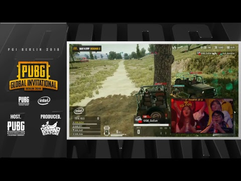 EN: PUBG Global Invitational (PGI) 2018 - Day 4 (FPP)