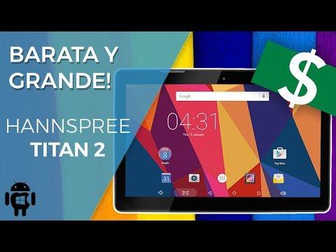 Review Hannspree Titan 2 | Una GRAN tablet