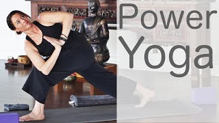 Video 30 Minute Power Yoga With Fightmaster Yoga MP3, 3GP, MP4, WEBM, AVI, FLV Maret 2018