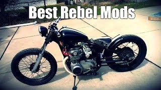 8. Top 5 Mods For The Honda Rebel 250