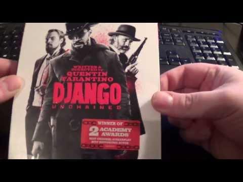 Django Unchained Blu Ray Unboxing