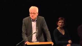 Hans Jurgen Urban DiEM25 in Berlin launch