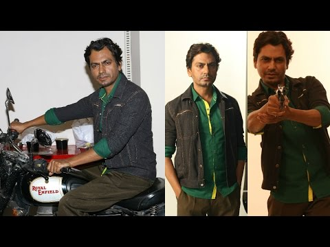 Nawazuddin Siddiqui Poster Photoshoot For Upcoming Film Babumoshai Bandookbaaz