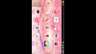 Go Launcher EX Theme Kitty YouTube video