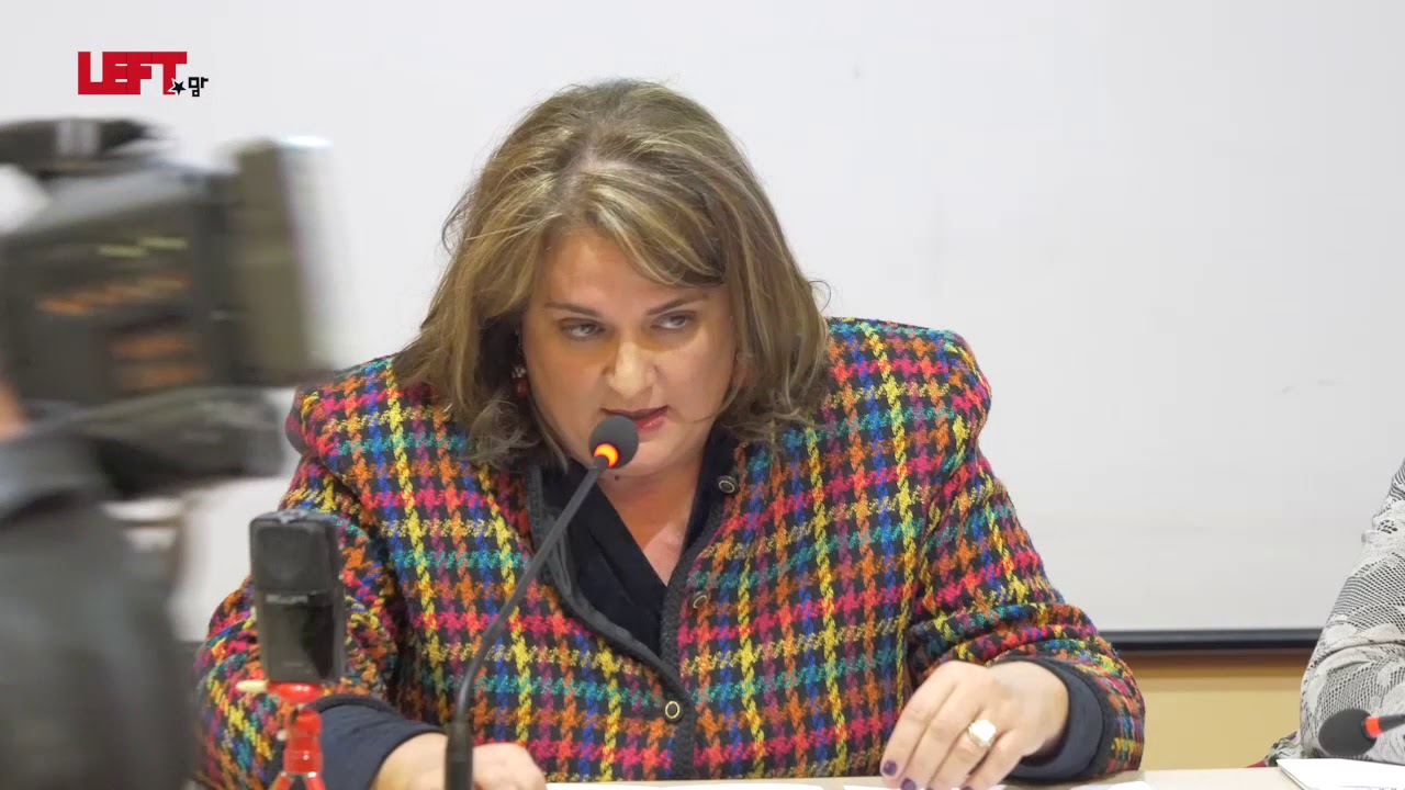 Tο δικαίωμα των γυναικών σε μια ζωή χωρίς βία -Α. Παπάζογλου