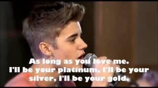 Video As long as you love me - Justin Bieber - Teen Awards 2012 (lyrics) MP3, 3GP, MP4, WEBM, AVI, FLV April 2019