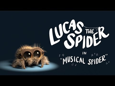 Download Lucas the Spider - Musical Spider HD Mp4 3GP Video and MP3