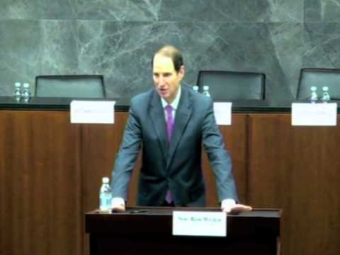 Senator Wyden discusses drones, targeted killings, and the secret laws that allow them