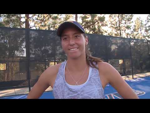 INTERVIEW: Luisa Stefani After UCSB Win
