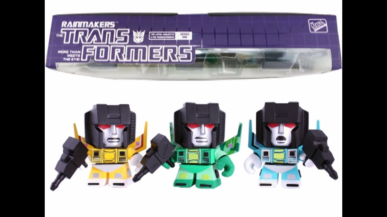 Transformers Rainmakers by Loyal Subjects!