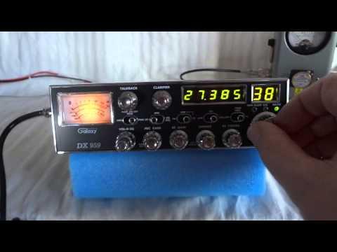 Galaxy DX959 AM SSB sideband CB radio