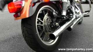 10. 2008 Harley-Davidson Dyna Low Rider with Vance and Hines Exhaust