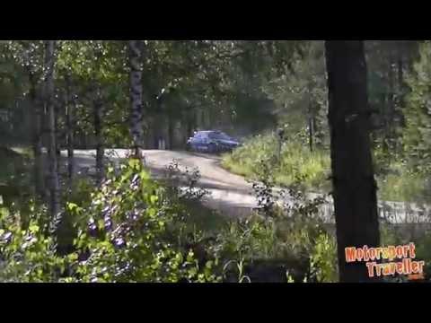 Vídeo Ogier al límite del vuelco en el shakedown WRC Rallye Finlandia 2015