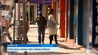 Máscaras agora são obrigatórias em Marília