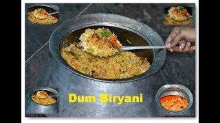 BIRYANI – CHICKEN BIRYANI Recipe | Indian DUM HYDERABADI BIRYANI Restaurant Style Preparation