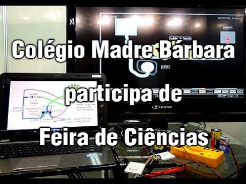 Colégio Madre Bárbara participa de Feira de Ciências