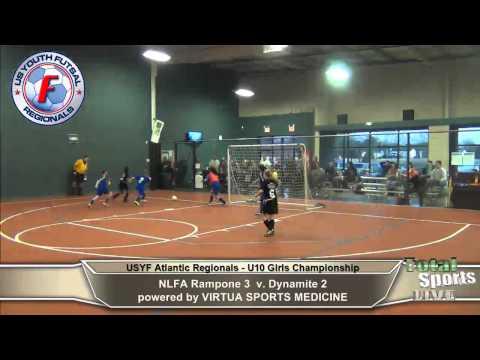 usfa u10 girls championship: NLFA Rampone v Dynamite