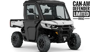 7. 2020 Can-Am Defender Limited with HVAC