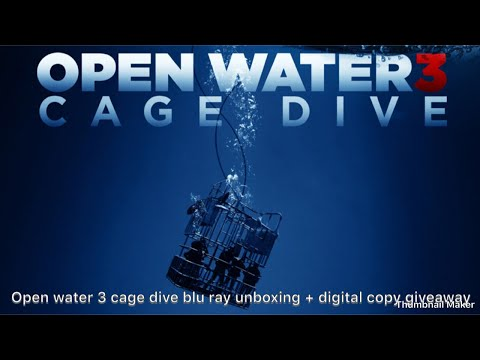 Open Water 3 Cage Dive Blu Ray Unboxing + Digital Copy Giveaway