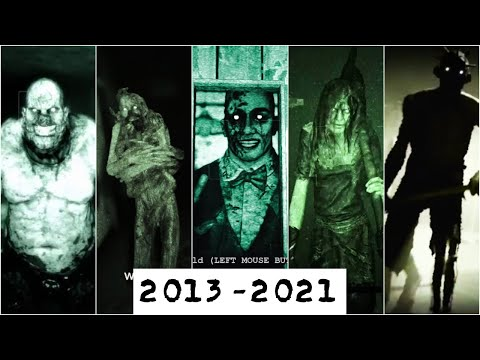 Every SCARY Villain/Antagonist in Outlast Series 2013-2021