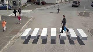 Download Video 77% Pengendara Tertipu Dengan Trik Ilusi Optik Rambu Lalu Lintas Di Jalanan Ini MP3 3GP MP4