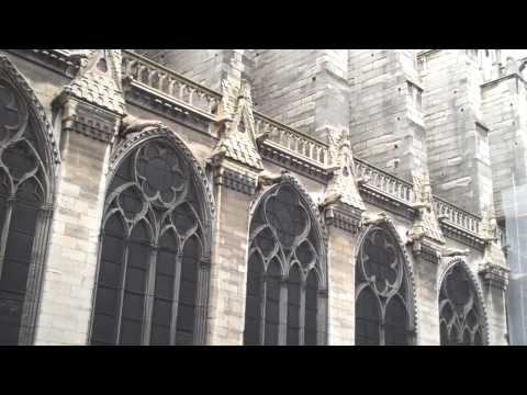 Notre Dame chimes and gargoyles