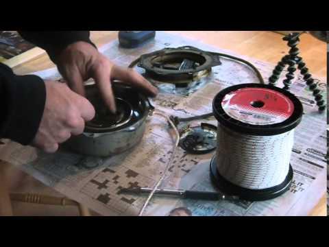 11_7_2014, Fixing a Honda ATC 200S Recoil starter,