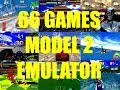 66 GAMES - MODEL 2 11a EMULATOR TEST