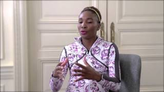 Pinks and Greens talks with Venus Williams