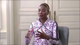 Pinks and Greens talks with Venus Williams