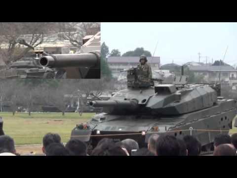 Возможности новейшего японского танка.