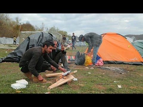 Χιλιάδες μετανάστες εγκλωβισμένοι στα σύνορα Βοσνίας-Κροατίας…