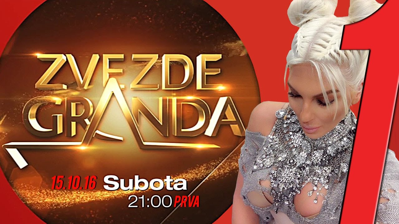 ZVEZDE GRANDA 2016 – 2017 – četvrta emisija – 15. 10. – najava