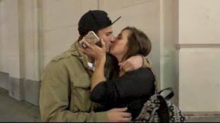 THEY HAD TO KISS!! | David Dobrik