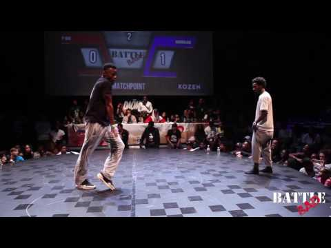 PDOG vs HURRIKANE - HIP-HOP 1/2 FINAL - Battle BAD 2016