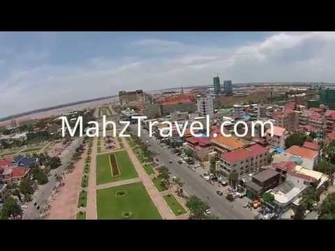 Phnom Penh Drone Video