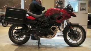 10. 2013 BMW F800 GS - NYC EXPO