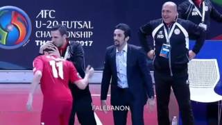 Video 2017 AFC U-20 Futsal Championship || Lebanon 3-0 Qatar MP3, 3GP, MP4, WEBM, AVI, FLV Juli 2017