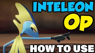 INTELEON OP! How To Use Inteleon In Pokemon Sword and Shield - Inteleon Moveset Guide by Verlisify