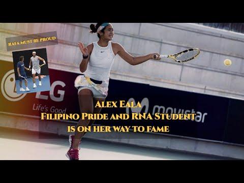 Alex Eala Filipino Pride and RNA Student Making her Fame