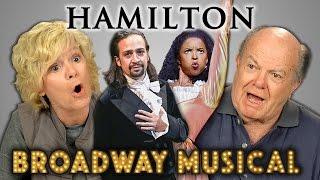 Video ELDERS REACT TO HAMILTON (Hip Hop Musical) MP3, 3GP, MP4, WEBM, AVI, FLV Juni 2018