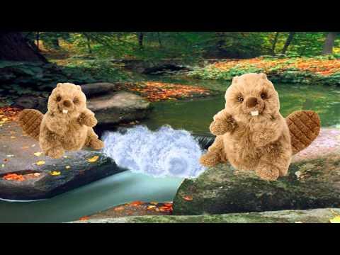 Plush Beaver Bibbers Stuffed Animal