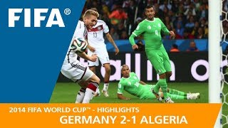 Video GERMANY v ALGERIA (2:1) - 2014 FIFA World Cup™ MP3, 3GP, MP4, WEBM, AVI, FLV Desember 2018