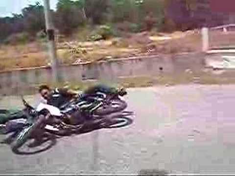 jatuh motor