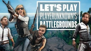 Let's Play PUBG Savage map gameplay with Ian, Johnny, Aoife and Chris - TROPICAL TANTRUMS!