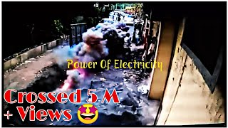 22KV cable explosion | Electric Accident | Short Circuit | High Voltage Underground Line