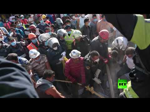 العرب اليوم - شاهد: مشاهد مروّعة من زلزال المكسيك المدّمر