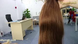 Vietnamese Hair | Double Drawn Weft Natural Wavy Hair color #84